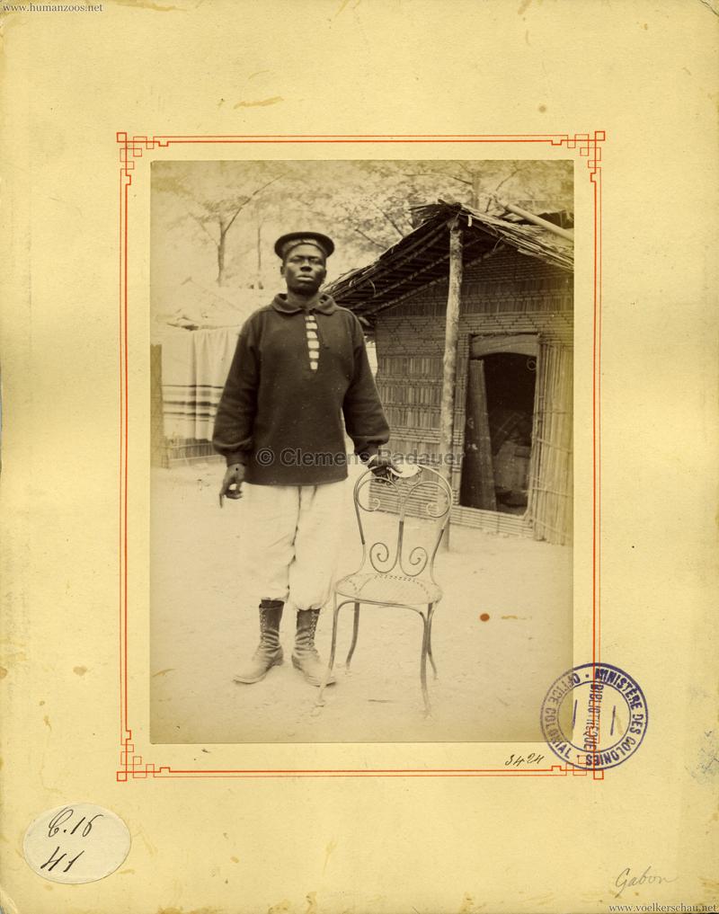 1889 Exposition Universelle Paris - Gabon 1 (Ministeres des Colonies)