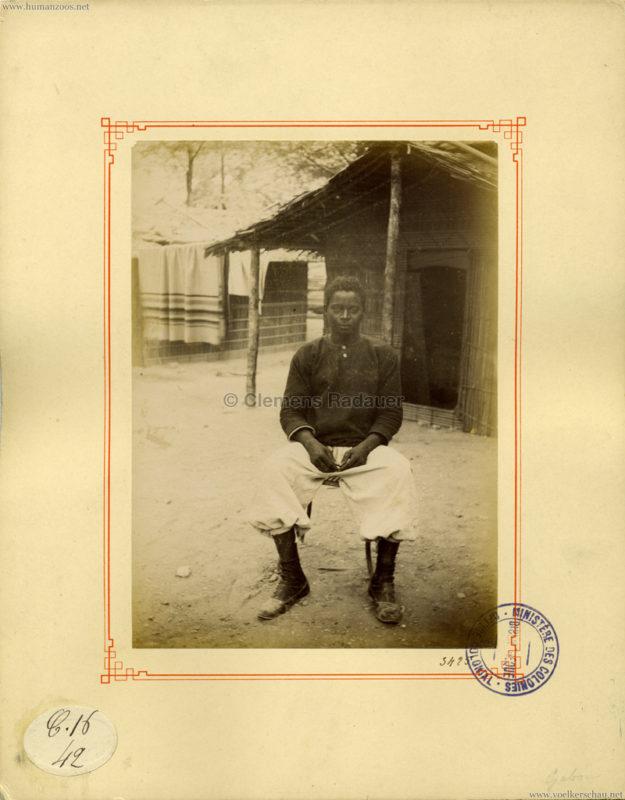 1889 Exposition Universelle Paris - Gabon 2 (Ministeres des Colonies)