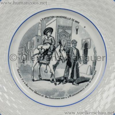 1889 Exposition Universelle Paris - TELLER Anes blancs Detail