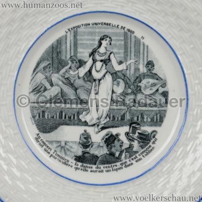 1889 Exposition Universelle Paris - TELLER Concert Tunisien Detail