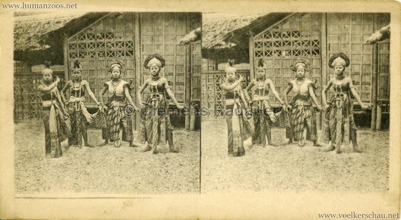 1889 Souvenir des merveilles de l'Exposition de 1889 - La Danse des Mains (Kampong Javanais)