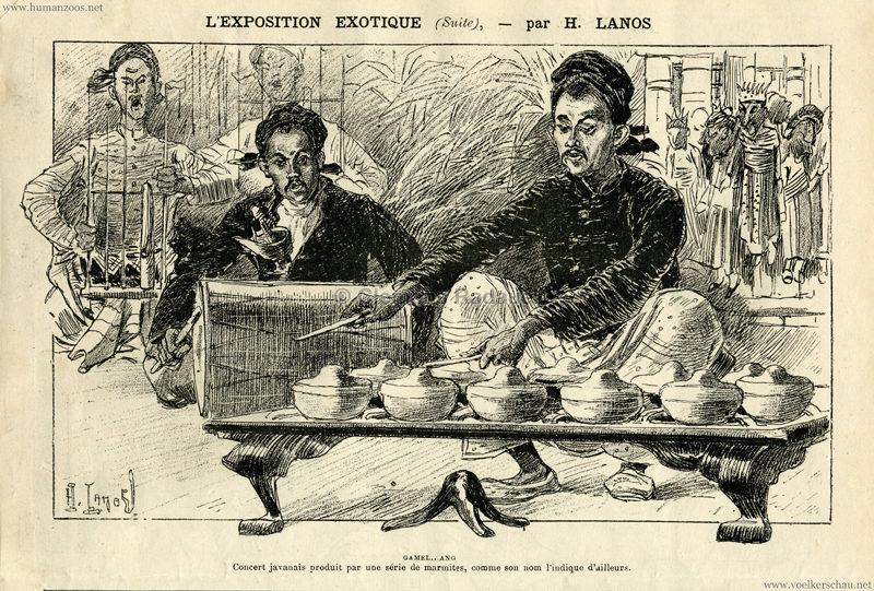 1889.06.22 La Caricature - L'Exposition Exotique 3