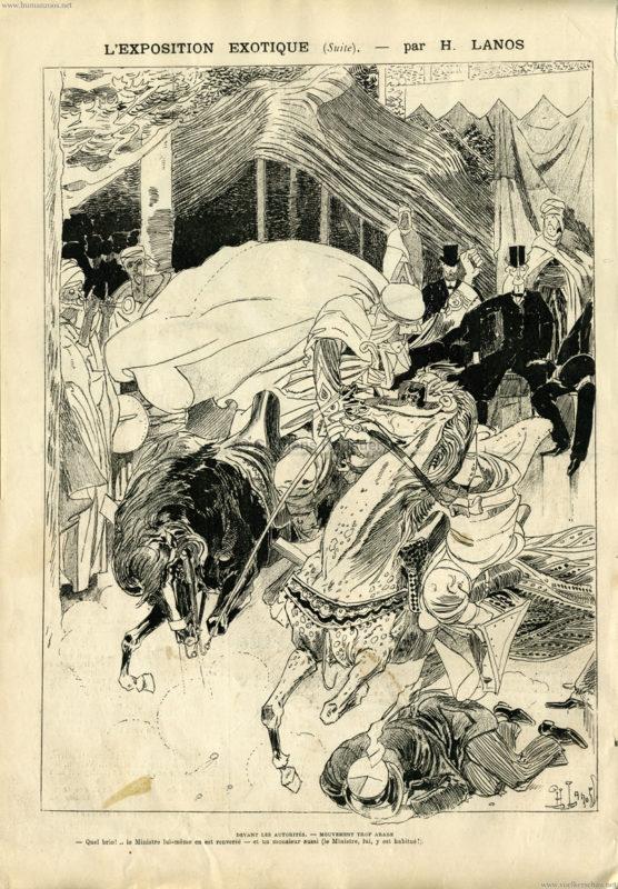 1889.06.22 La Caricature - L'Exposition Exotique 4