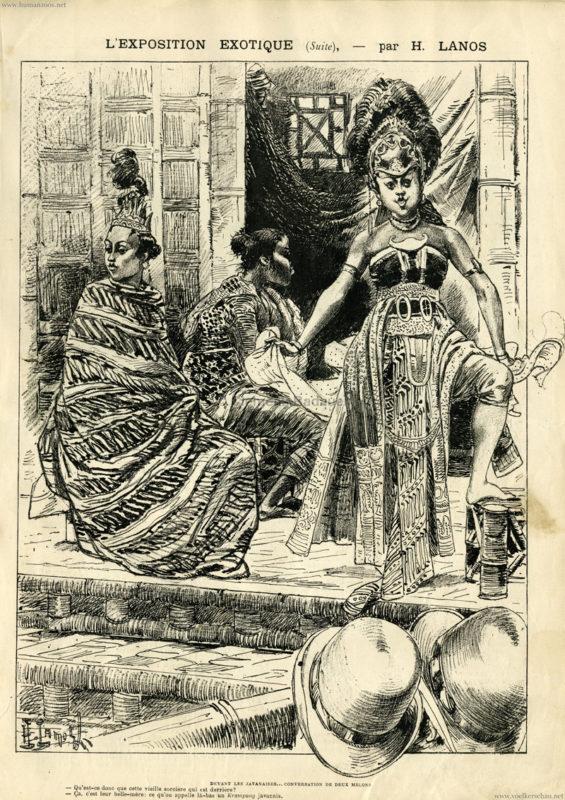 1889.06.22 La Caricature - L'Exposition Exotique 5