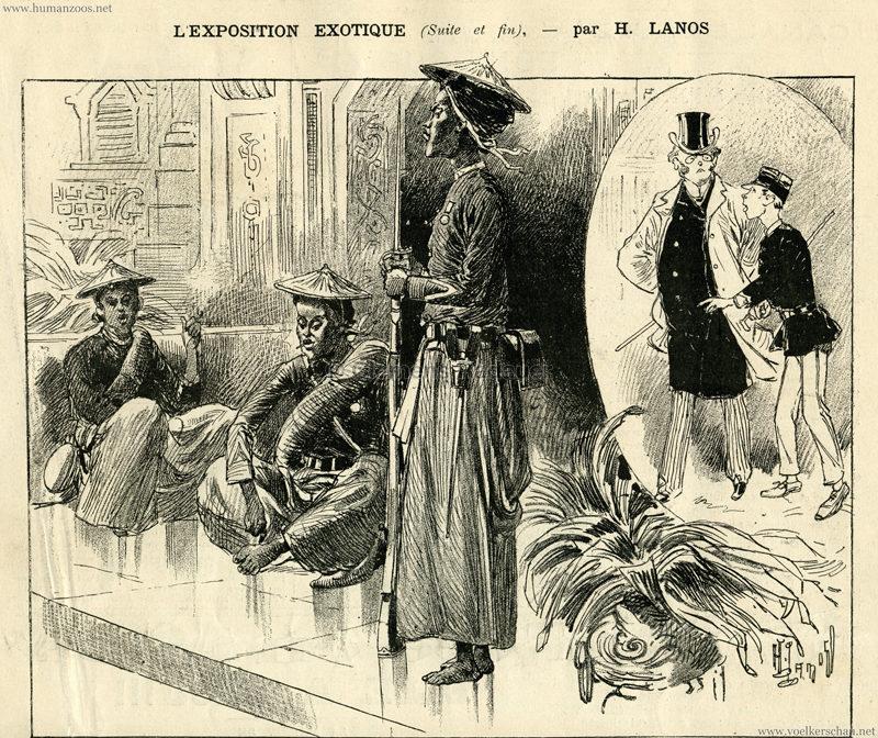 1889.06.22 La Caricature - L'Exposition Exotique 7