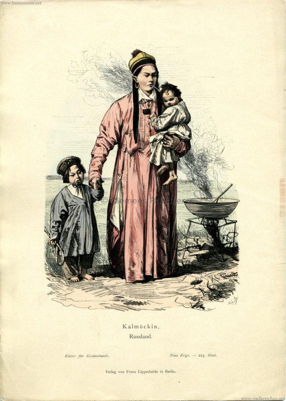 1891 Blätter für Kostümkunde Nr. 223, Bd. IV -