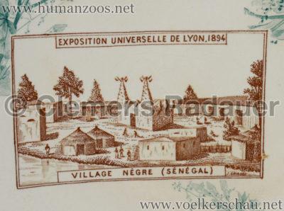 1894 Exposition Universelle, Internationale & Coloniale de Lyon - Village Negre (Senegal) TELLER Detail