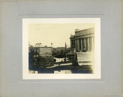 1894 Exposition Universelle d'Anvers - Congo vue du Village CDV 1