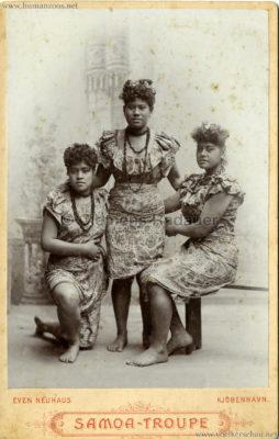 1895:1896 Samoaner-Truppe - CDV 3