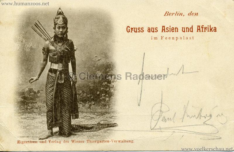 1898 Gruss aus Asien und Afrika im Feenpalast 2