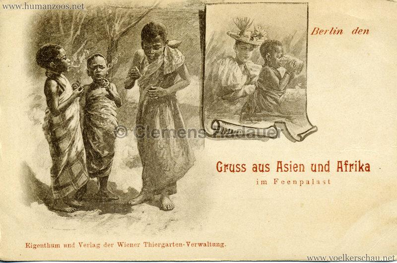 1898 Gruss aus Asien und Afrika im Feenpalast 3