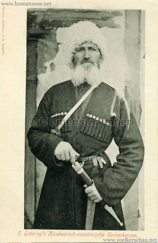 1900 E. Gehring's Kaukasisch-ossetinische Tscherkessen 2 2