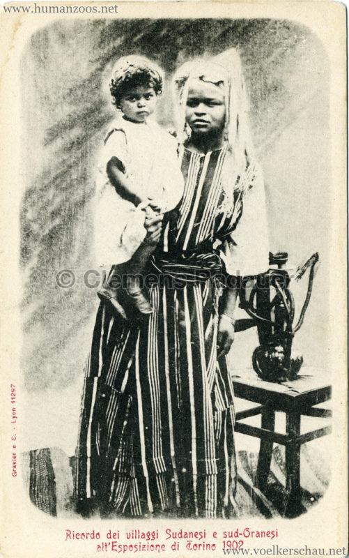 1902 Esposizione di Torino - Villaggi Sudanesi e Sud-Oranesi 6