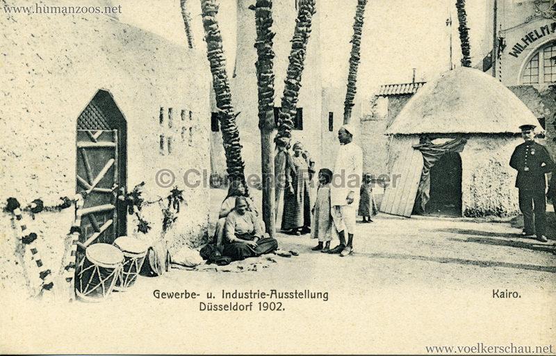 1902 Industrie- & Gewerbeausstellung Düsseldorf - Kairo