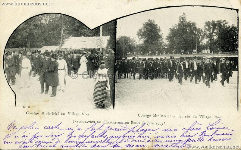 1903 Exposition de Reims - Inauguration de l'Exposition de Reims (Village Noir)