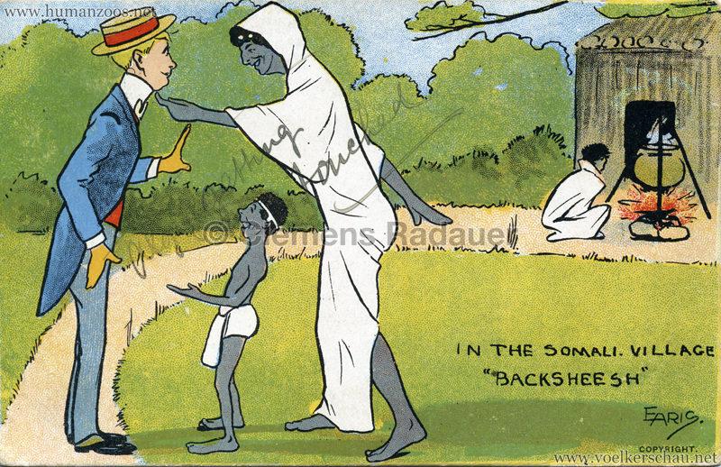 1904 Bradford Exhibition - Somali Village Backsheesh VS