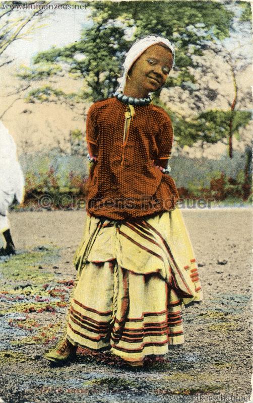 1904 Bradford Exhibition - Somali Village - Girl