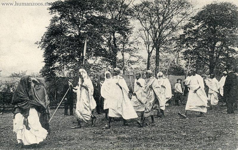 1904 Bradford Exhibition - Somali Village. Warpath