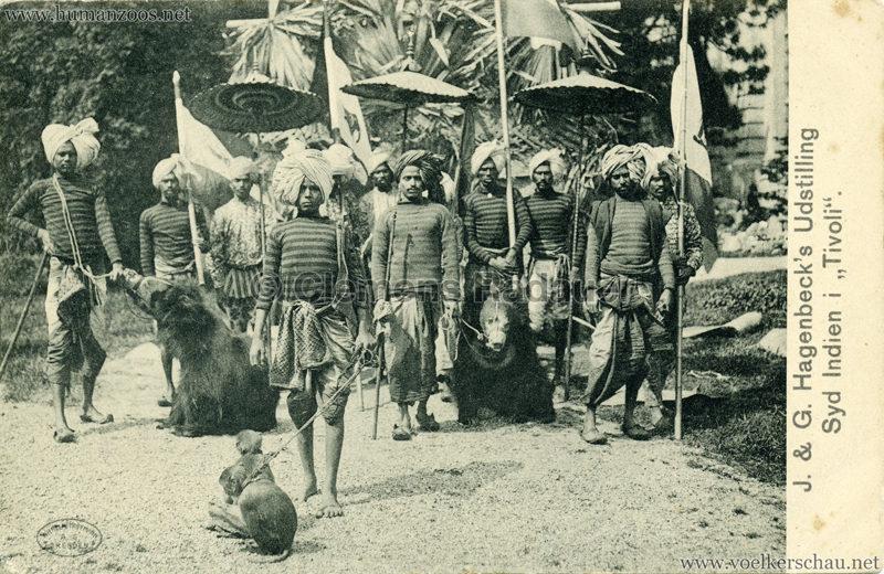 1904 J. & G. Hagenbeck's Udstilling Syd Indien i