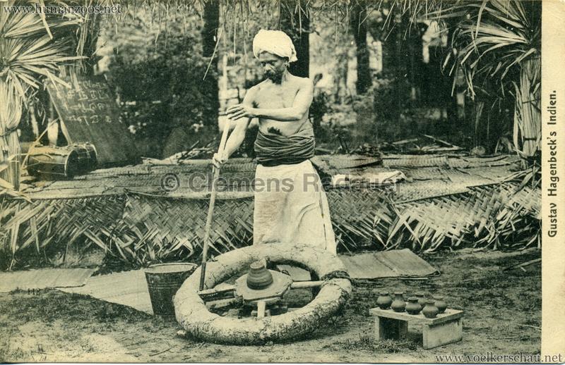 1905:1906 Gustav Hagenbecks Indien - 118. Töpfer VS