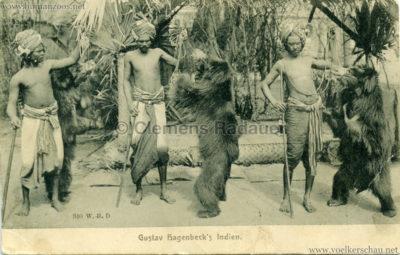 1905:1906 Gustav Hagenbecks Indien - 340. VS