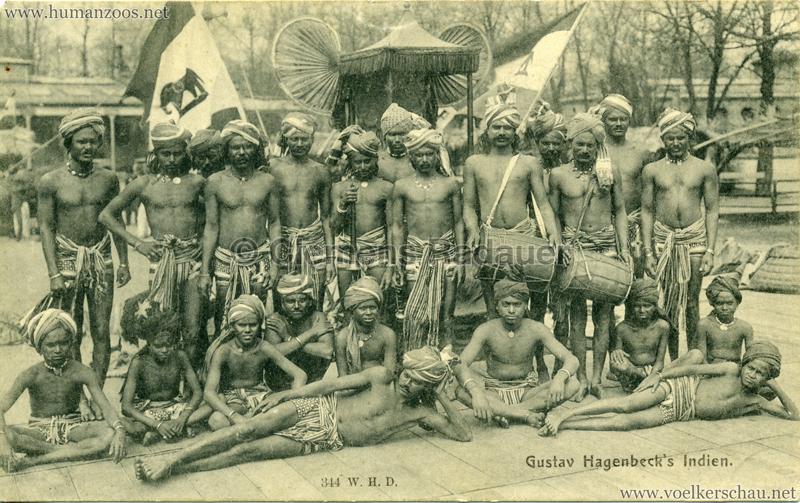 1905:1906 Gustav Hagenbecks Indien - 344 VS