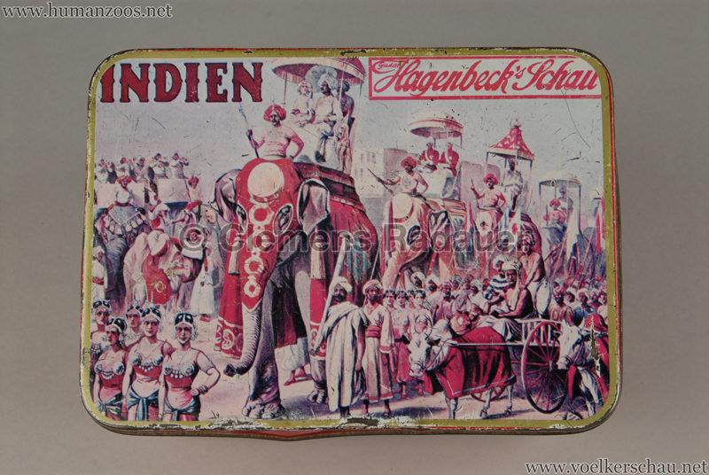 1905:1906 Gustav Hagenbecks Indien - Blechdose 2