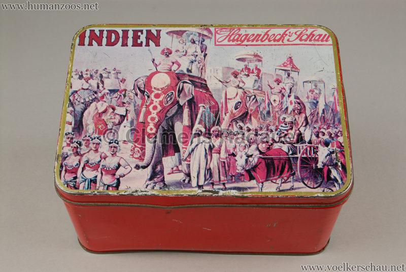 1905:1906 Gustav Hagenbecks Indien - Blechdose 3