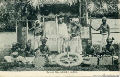 1905:1906 Gustav Hagenbecks Indien - Handwerker