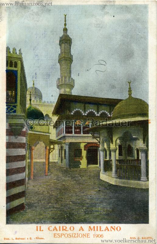 1906 Esposizione - Il Cairo a Milano - bunt 2