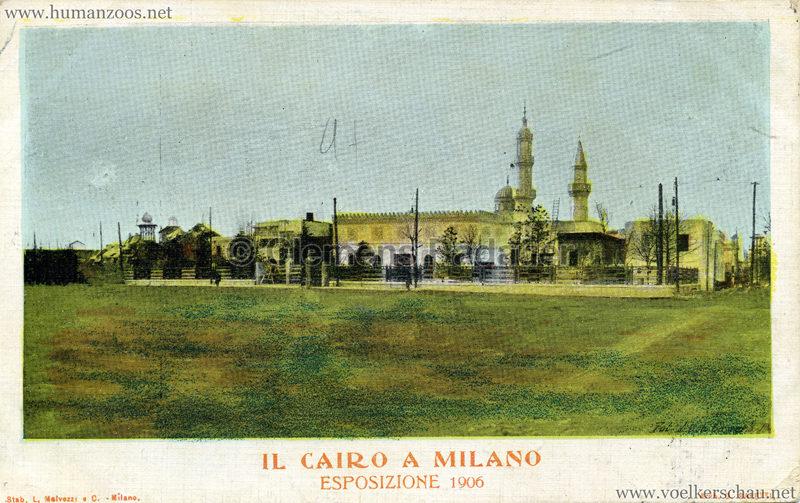 1906 Esposizione - Il Cairo a Milano - bunt 3