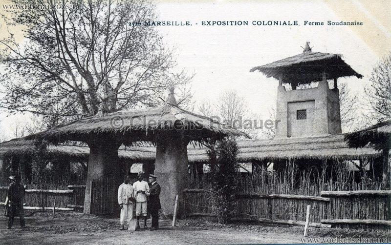 1906 Exposition Coloniale Marseille - Ferme Soudanaise