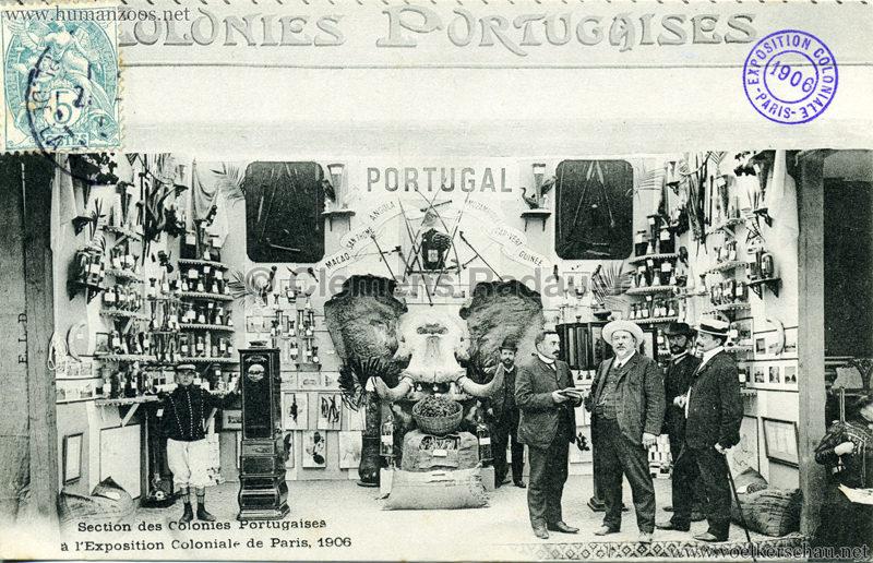 1906 Exposition Coloniale Paris - Section des Colonies Portugaises