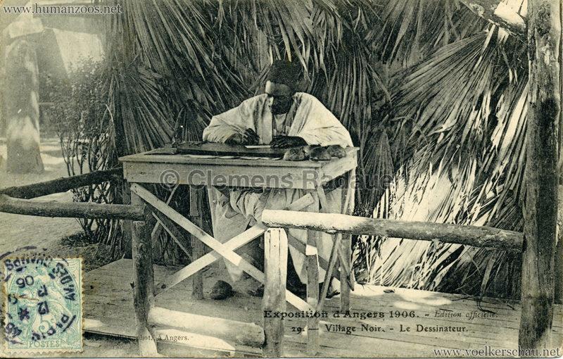 1906 Exposition d'Angers - 29. Le Dessinateur