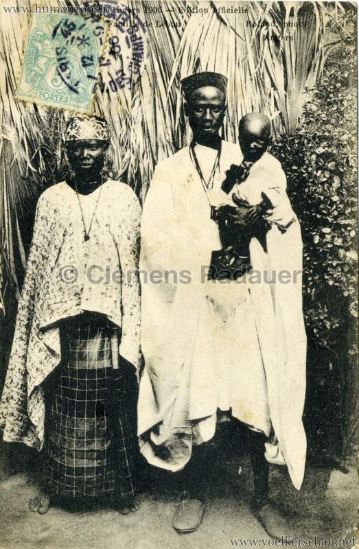 1906 Exposition d'Angers - 41. Familles de Lebou