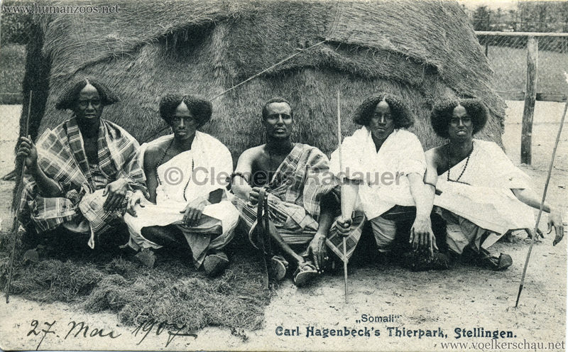 1907 Hagenbeck Somali