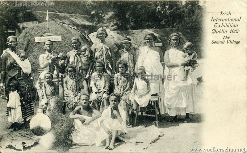 1907 Irish International Exhibition - Somali Village 5