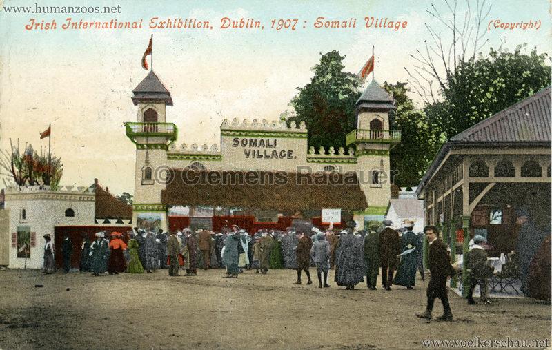 1907 Irish International Exhibition - Somali Village 6