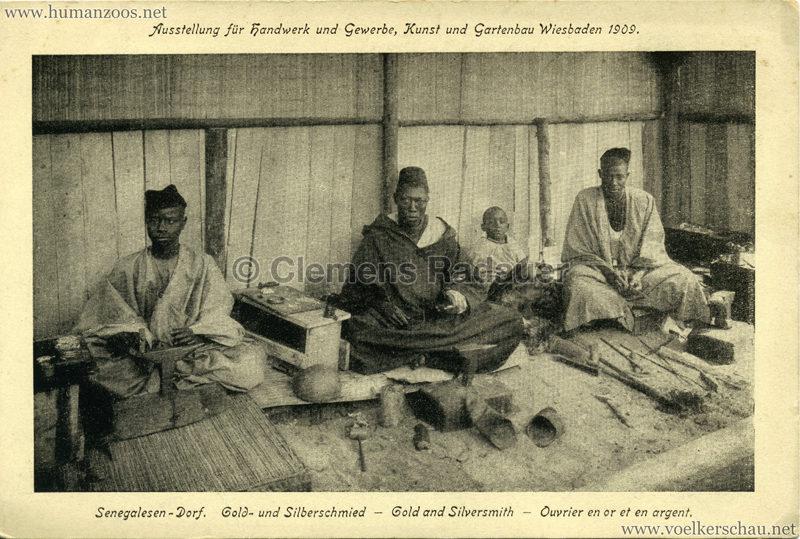 1909-ausstellung-fu%cc%88r-handwerk-u-gewerbe-kunst-und-gartenbau-wiesbaden-senegalesen-dorf-gold-u-silberschmied