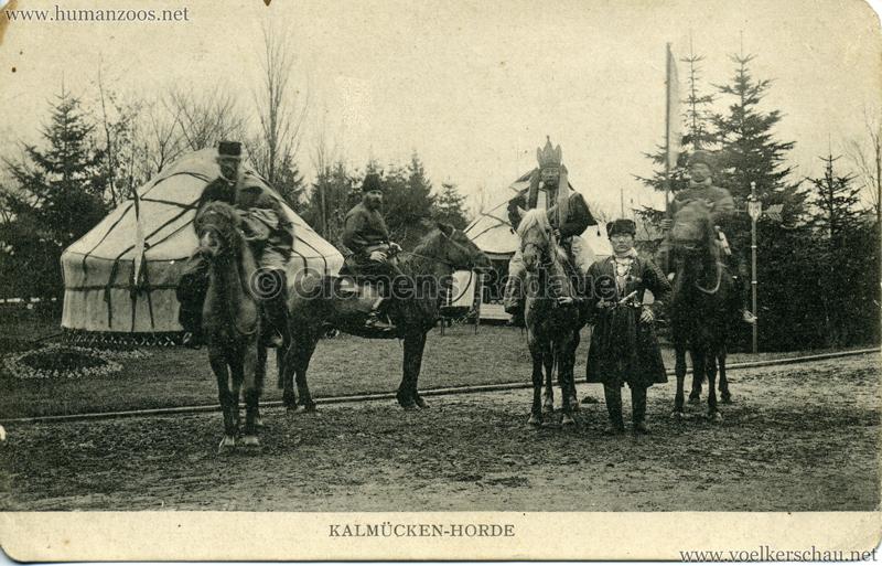 1909.16.05. Hamburg - Kalmücken-Horde
