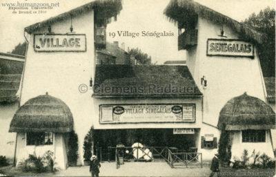 1910 Exposition de Bruxelles - Le Village Sénégalais 6