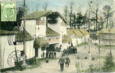 1910 Exposition de Bruxelles - Le Village Sénégalais 7