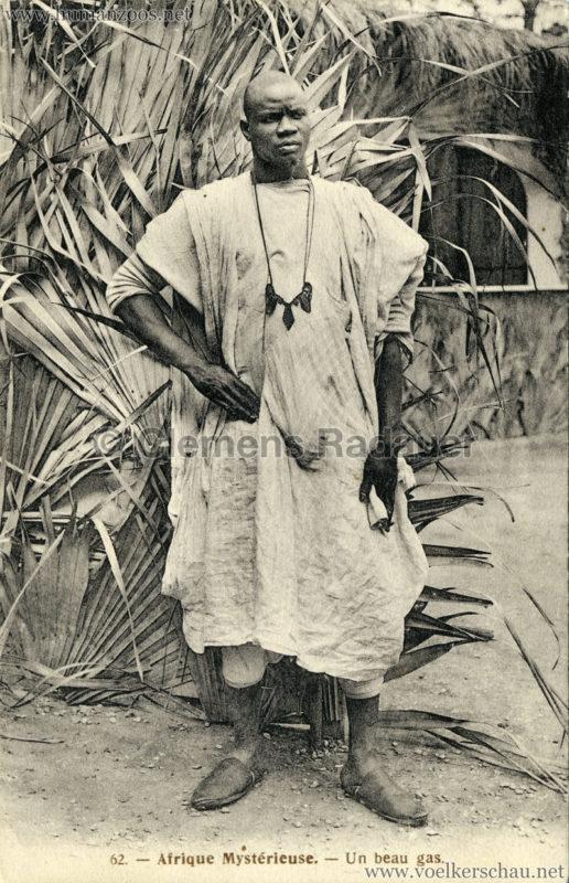 1910 L'Afrique Mystérieuse - Jardin d'Acclimatation - 62. Un beau Gas