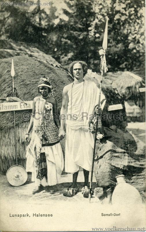 1910:1911 Lunapark Halensee - Somali-Dorf 5