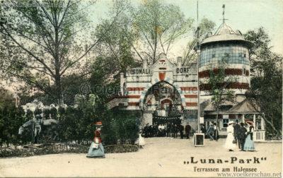 1910:1911 Lunapark Halensee - Somali-Dorf 7