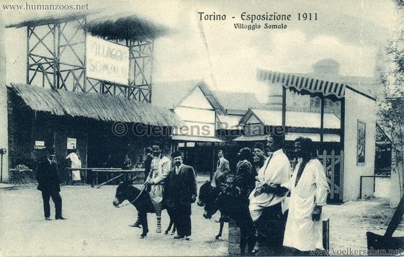 1911 Esposizione di Torino - Villaggio Somalo