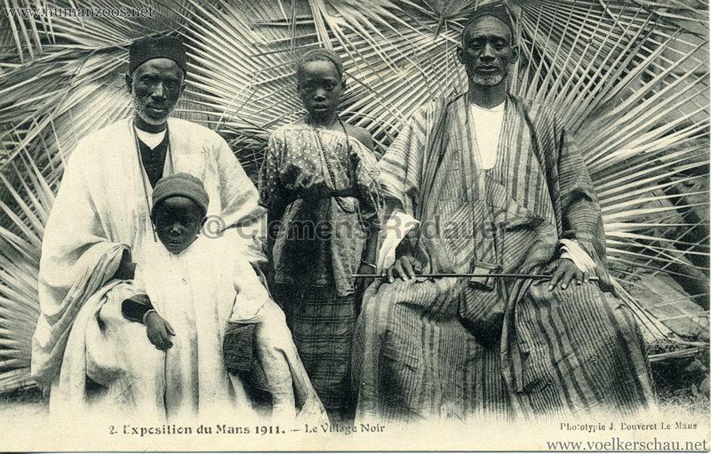 1911 Exposition du Mans - Le Village Noir - 2