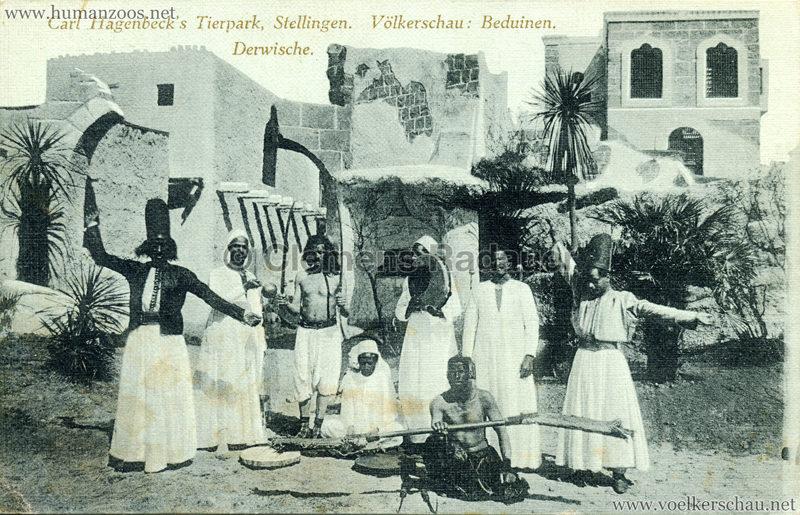 1912 Völkerschau Beduinen - Derwische gel. 13.08.1912