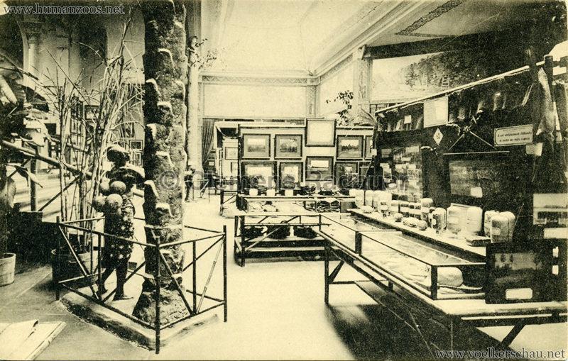 1913 Exposition de Gand - Congo belge. Propagande agricole coloniale
