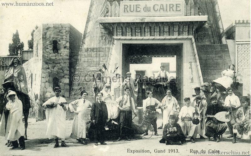 1913 Exposition de Gand - Rue du Caire